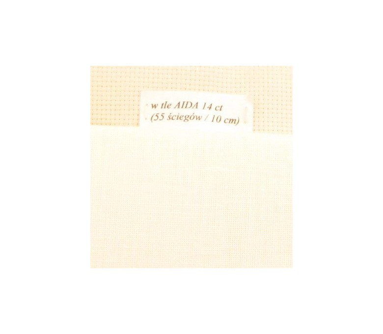 Linen fabric 32 ct (50 x 70 cm) colour: 22 – écru