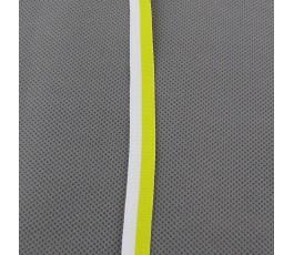 Tasiemka biało-żółta 1,2 cm