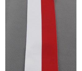 Tasiemka biało-czerwona 5 cm