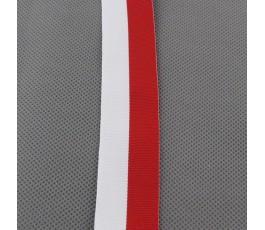 Tasiemka biało-czerwona 3 cm