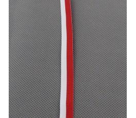 Tasiemka biało-czerwona 1,2 cm