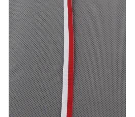 Tasiemka biało-czerwona 1 cm