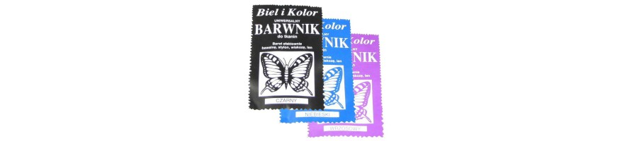 Barwniki do tkanin
